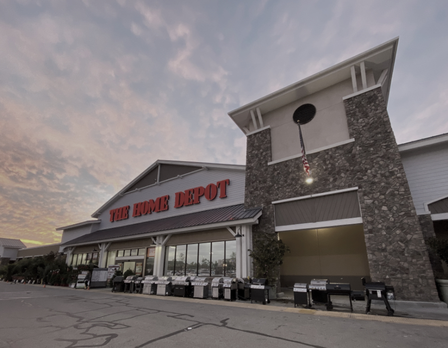 The Home Depot from real estate investment services